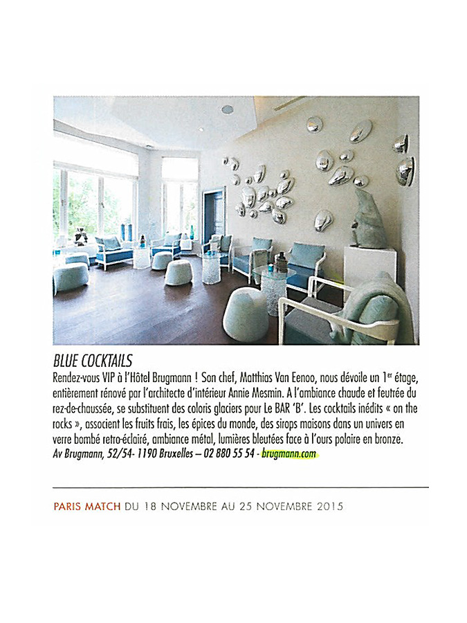 article Brugmann Paris Match