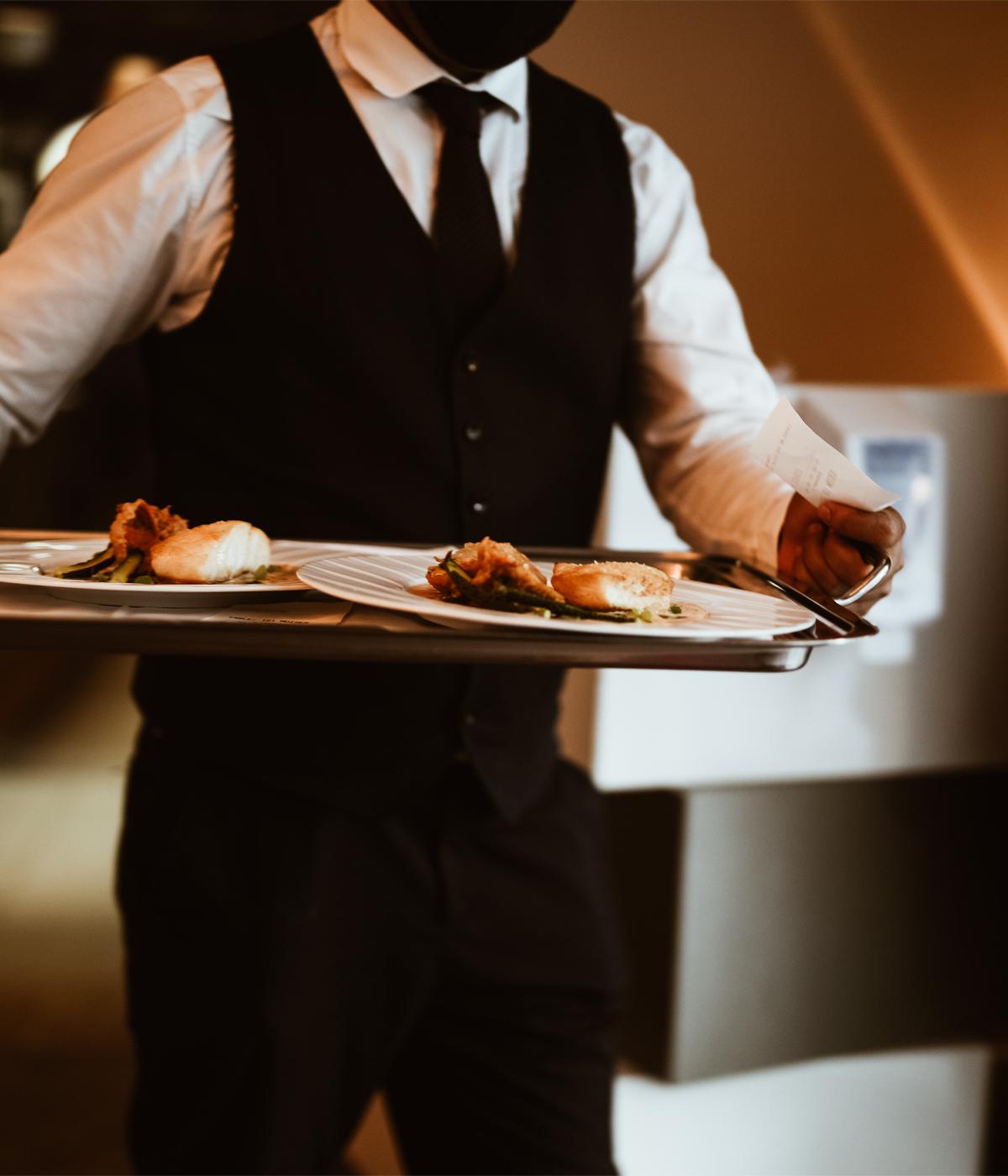 service plateau restaurant Brugmann