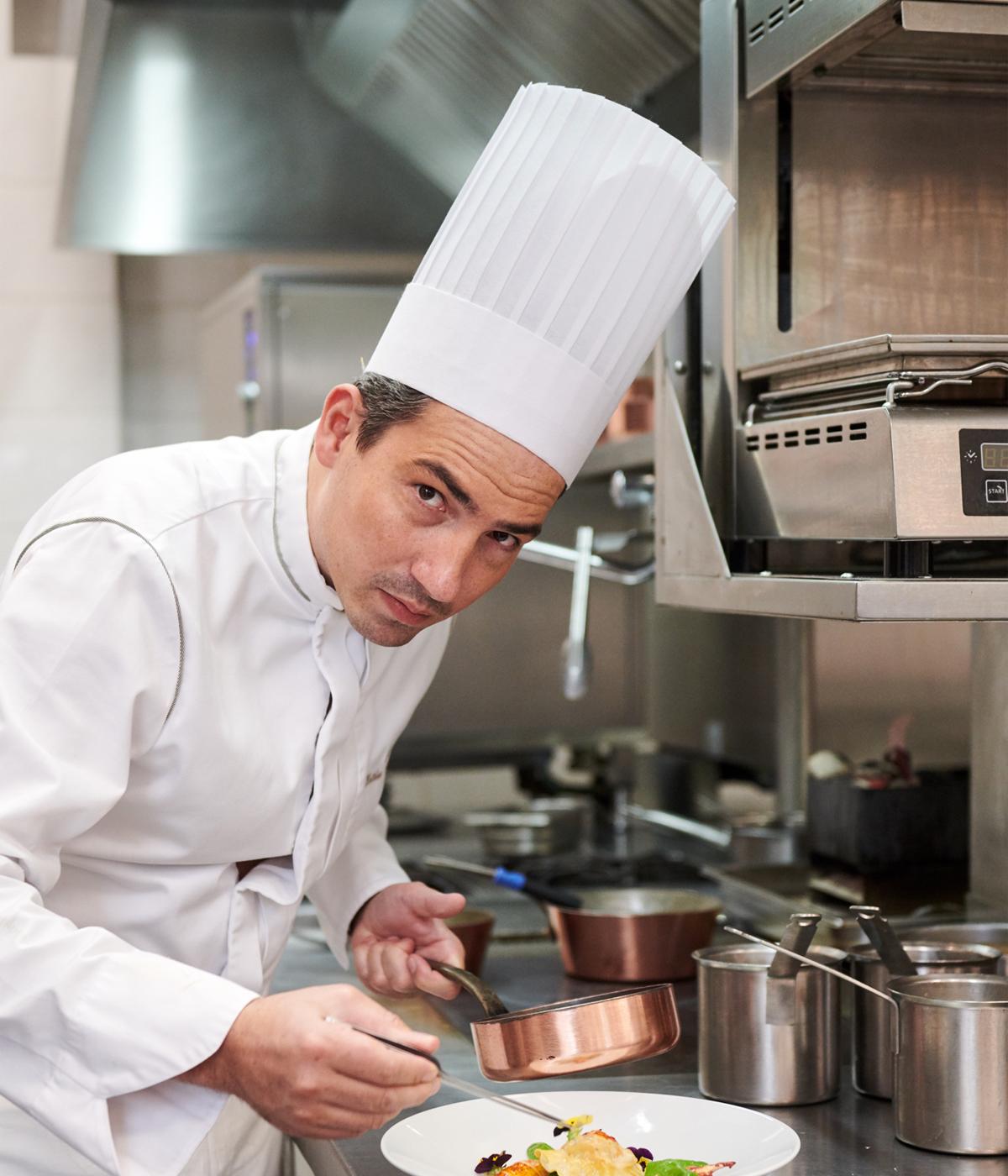 Chef Van Eeno cuisine brugmann