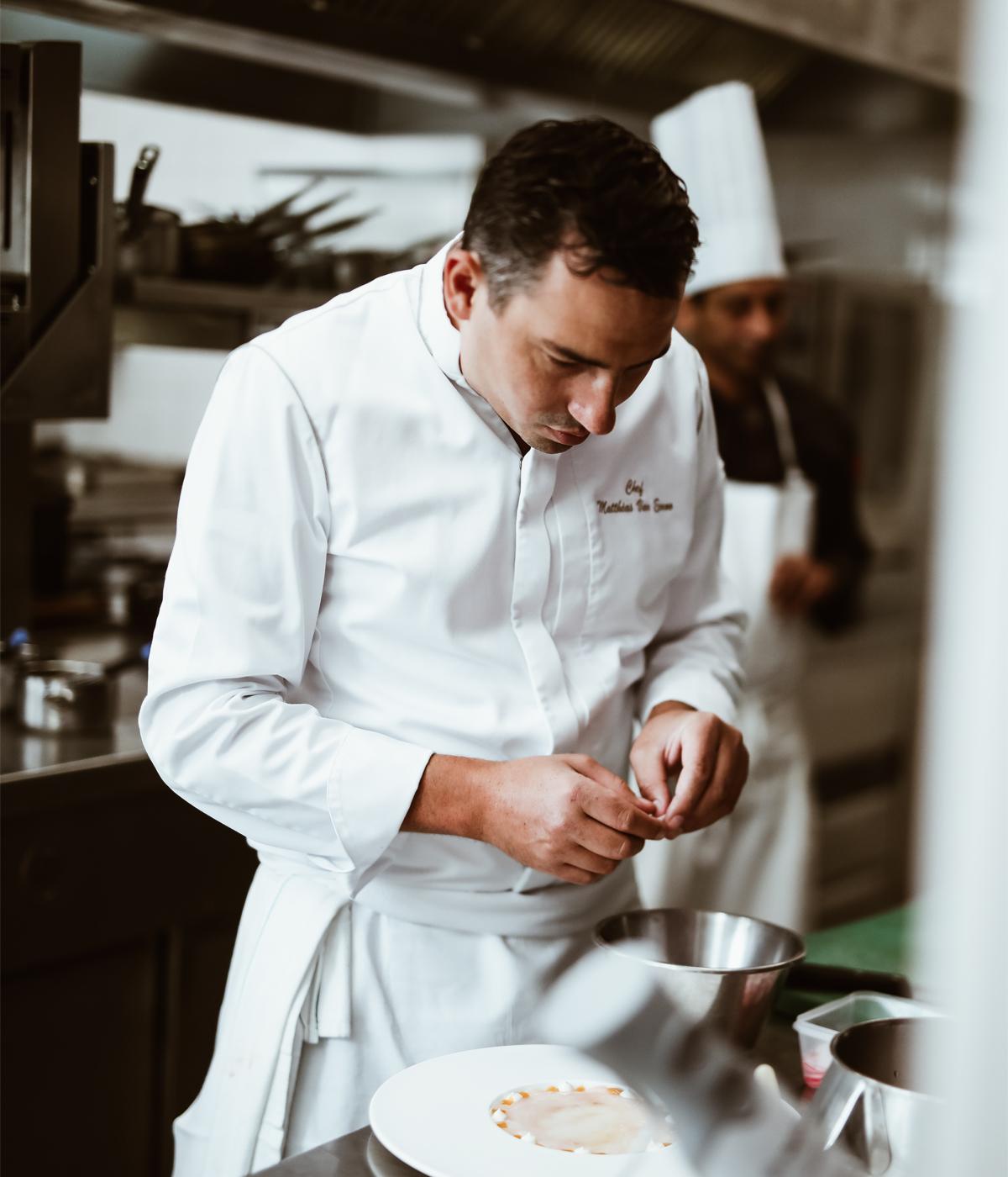 chef van eenoo cuisine