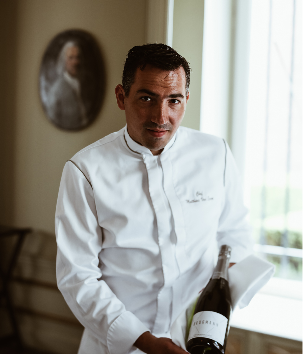 portrait chef Van eenoo